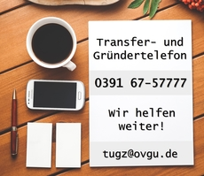 Transfer and founder phone: We help you